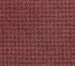 Dusty Rose Houndstooth-  Fat Quarter - 100% Hand Dyed Wool
