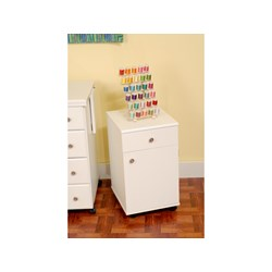 Suzi Storage Sidekick Cabinet by Arrow - White