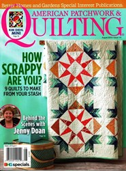 American Patchwork & Quilting August 2016 - Issue 141