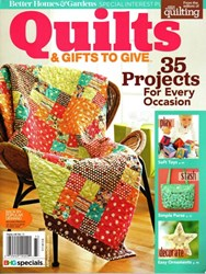 QUILTS & Gifts to Give<br>Better Homes & Gardens Special Interest Publication 2017