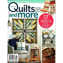 Quilts & More Winter 2018