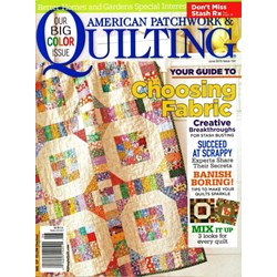 American Patchwork & Quilting June 2015- Issue 134