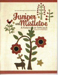 Juniper and Mistletoe Book (Festival of Trees) by Karla Menaugh & Barbara Brackman