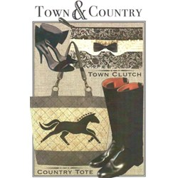 Town & Country Pattern by Artful Offerings