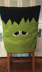 Frankie Chair Cover Pattern by Cut Loose Press