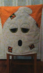 Ghost Chair Cover Pattern by Cut Loose Press