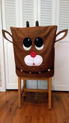 Reindeer Chair Cover Pattern by Cut Loose Press