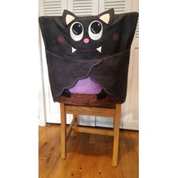Bat Chair Cover Pattern by Cut Loose Press