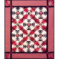 Pineapple Salsa Quilt Pattern by Cut Loose Press