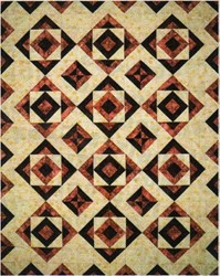 Mirrored Tiles Quilt Pattern by Cut Loose Press