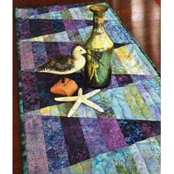 Table Treasures Table Runner Pattern by Cut Loose Press