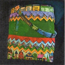 Prairie Point Mesh Tote Pattern by Cut Loose Press