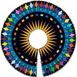 "Holiday Tree Skirt or Table Topper Pattern - 48"" Diameter - by Deb Karasik"