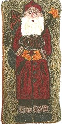 St. Nicholas Punch Needle Pattern by Kindred Spirits'