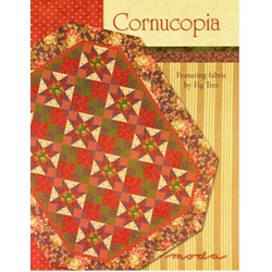 VINTAGE FIND!  Cornucopia Quilt Pattern - Fig Tree for MODA