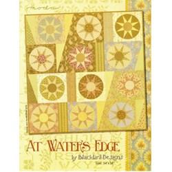 VINTAGE FIND!  At Water's Edge Quilt Pattern - Blackbird Designs for MODA