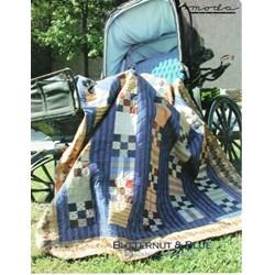 VINTAGE FIND!  Butternut & Blue Quilt Pattern - Brackman & Thompson for MODA