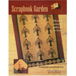 VINTAGE FIND! Scrapbook Garden Quilt Pattern - Kansas Troubles for MODA