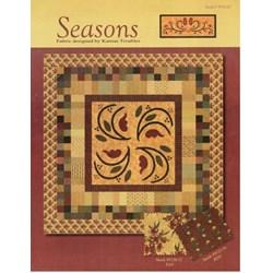 VINTAGE FIND! Seasons Quilt Pattern - Kansas Troubles for MODA