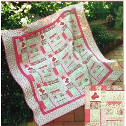 Sweet, Love & Forever Quilt Pattern by Sally Giblin
