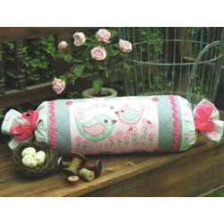 Peek & Boo Stitchery & Applique Bolster Pattern by Sally Giblin