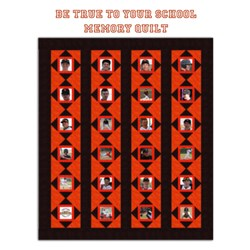 Be True to Your School Memory Quilt Pattern