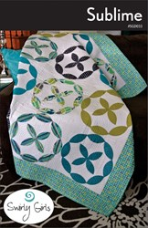 Sublime Quilt Pattern by Swirly Girls Design