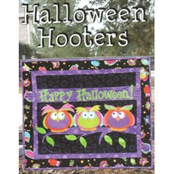 Halloween Hooters Wallhanging Pattern by Whistlepig Creek Productions