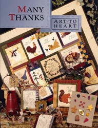 Many Thanks Book & Button Kit<br>by Art To Heart