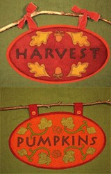 Wooly Autumn Signs Pattern<br>Artful Offerings