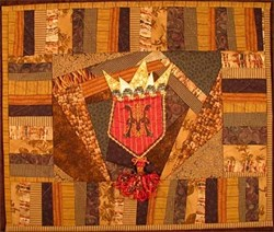 Crazy Coat of Arms Pattern <br>Artful Offerings