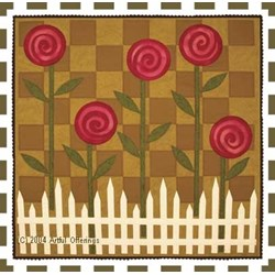 Posies on Parade Pattern by Artful Offerings