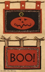 Wooly Halloween Signs