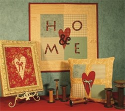 Heart & Home Pattern