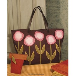 Folk Art Flower Tote Pattern