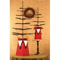 Jingle Bells Vases Pattern