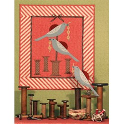 Sewing Bluebirds Quilt and Pinkeep Pattern