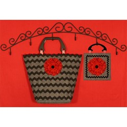 Zany Zinnia Handbags Pattern