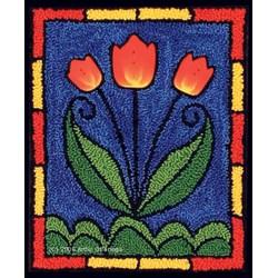 Tiffany Tulips Punchneedle Pattern
