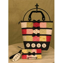Posh Patchwork Purse & Wristlet