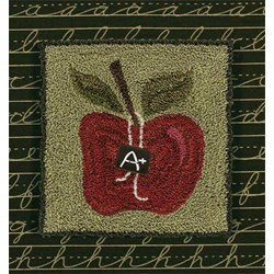 "Grade ""A"" Red Delicious  by Artful Offerings"