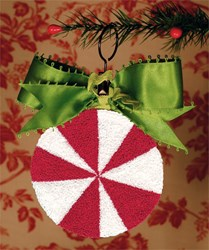 Be-Ribboned Peppermint Pattern <br> by Artful Offerings