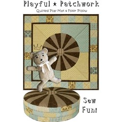 Playful Patchwork Pattern by Karina Hittle of Artful Offerings