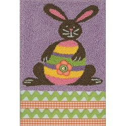 Chocolate Bunny Egg Hunt Pattern