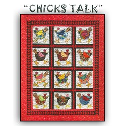 """Chicks Talk""  by Betty Thomas of B & B Designs"