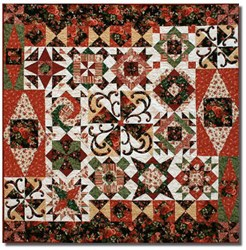 Clara's Enchanted Nutcracker Dance Quilt Pattern - FINISHING INSTRUCTIONS ONLY