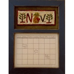 Calendar Series - November - Punch Needle Pattern
