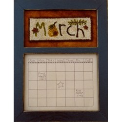 Calendar Series - March - Punch Needle PatternButtermilk Basin