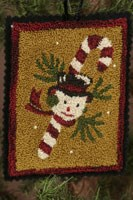 <i>Last One! </i><br> 12 Days of Snowmen - May - Punch Needle Pattern