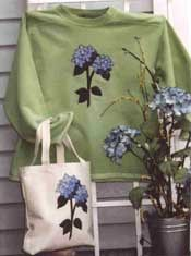 Hydrangea Bouquet Pattern by Cottage Creek Quilts
